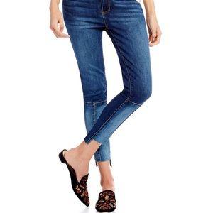 STS Blue step hem ankle jean size 28 dark wash